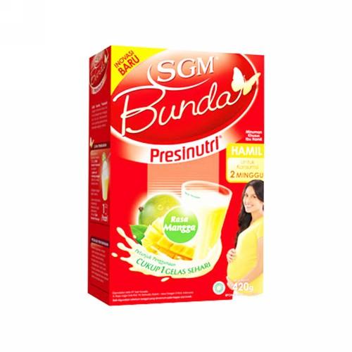 SGM BUNDA MINUMAN IBU HAMIL RASA MANGGA 420 GRAM BOX
