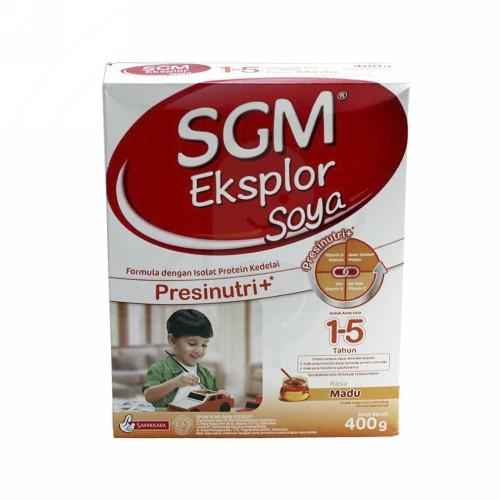 SGM EKSPLOR SOYA RASA MADU 1-5 TAHUN 400 GRAM