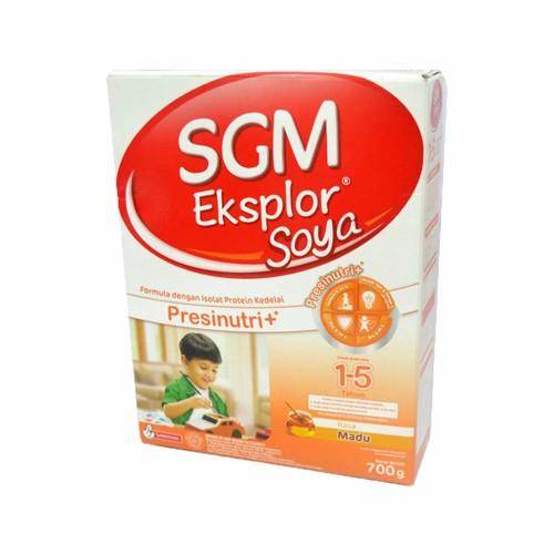 SGM SOYA RASA MADU 1-5 TAHUN 700 GRAM