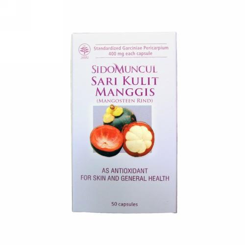 SIDOMUNCUL SARI KULIT MANGGIS KAPSUL BOX 50