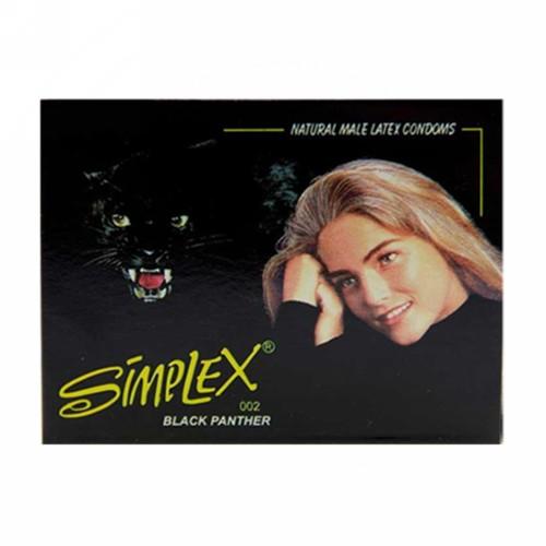 SIMPLEX KONDOM BLACK PANTHER BOX 3 PCS