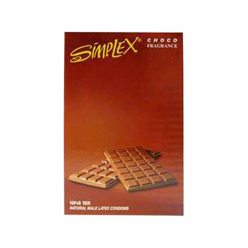 SIMPLEX KONDOM FRAGRANCE CHOCO BOX 12 PCS