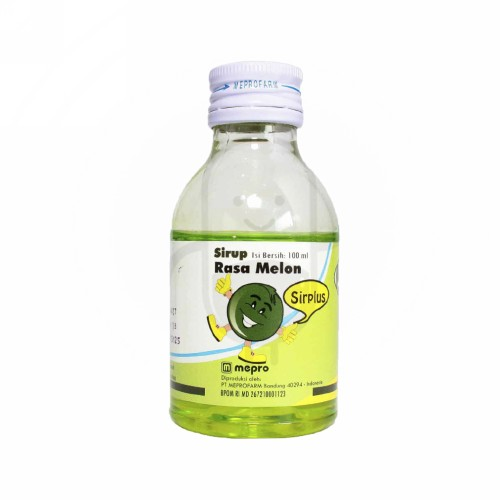 SIRPLUS RASA MELON SIRUP 100 ML