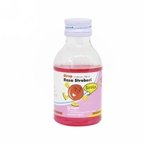 SIRPLUS RASA STRAWBERRY SIRUP 100 ML
