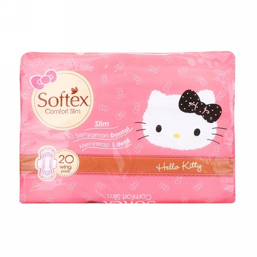 SOFTEX COMFORT SLIM WINGS 29 CM BOX 8 PCS