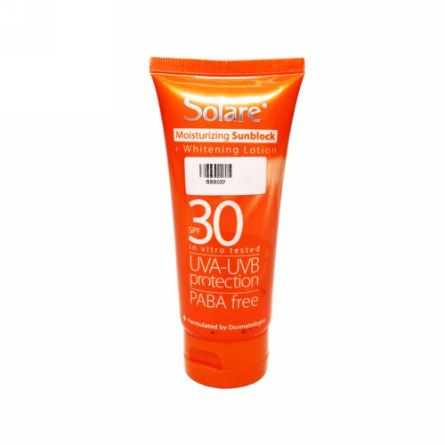 SOLARE SUNBLOCK PLUS WHITENING SPF 30 100 ML LOTION