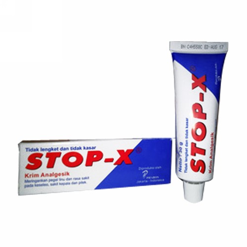 STOP X KRIM 30 GRAM