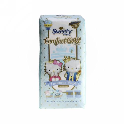SWEETY COMFORT GOLD POPOK CELANA UKURAN M PACK 48 PCS
