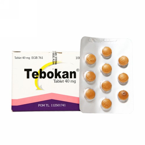 TEBOKAN 40 MG STRIP 10 TABLET