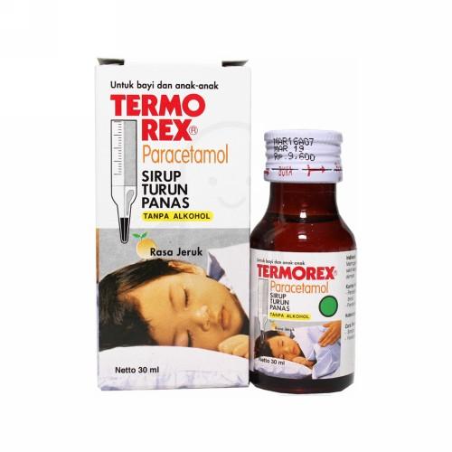 TERMOREX SIRUP 30 ML