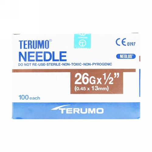 TERUMO NEEDLE 26 G BOX 100 PCS