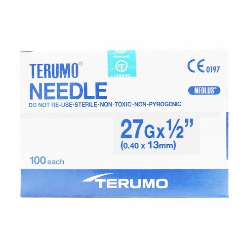 TERUMO NEEDLE 27 G BOX 100 PCS