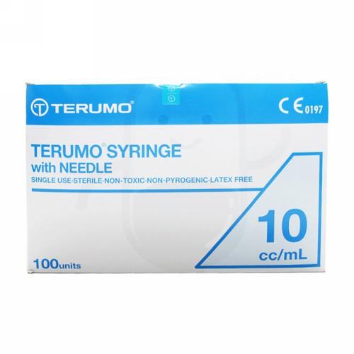 TERUMO SYRINGE 10 CC BOX 100 PCS
