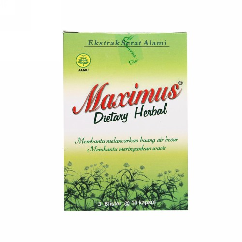 THERMOLYTE MAXIMUS KAPSUL BOX 30 PCS