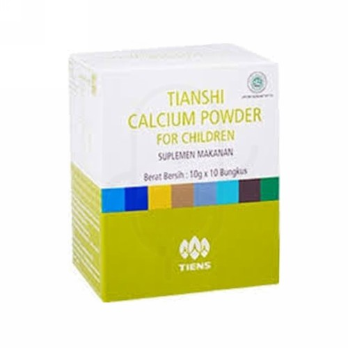 TIANSHI CALCIUM POWDER FOR CHILDREN 10 GRAM
