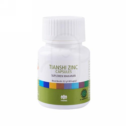 TIANSHI ZINC BOX 60 KAPSUL