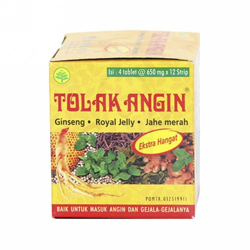 TOLAK ANGIN STRIP 4 TABLET
