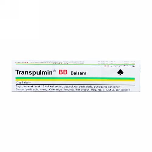 TRANSPULMIN BB BALSAM 10 GRAM