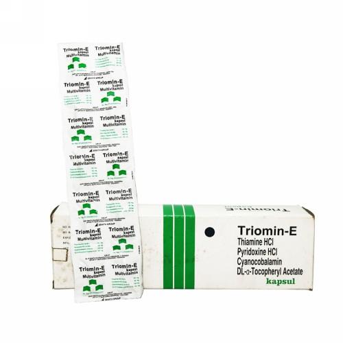 TRIOMIN-E BOX 100 KAPSUL
