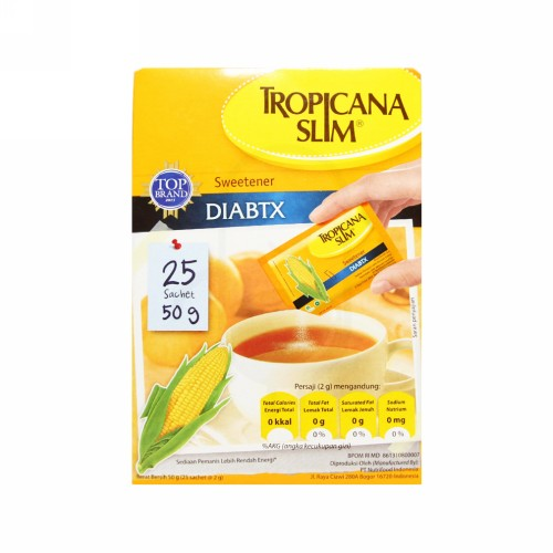TROPICANA SLIM CLASSIC BOX 25 SACHET