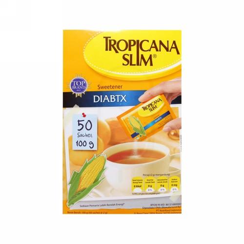 TROPICANA SLIM DIABETES BOX 50 SACHET