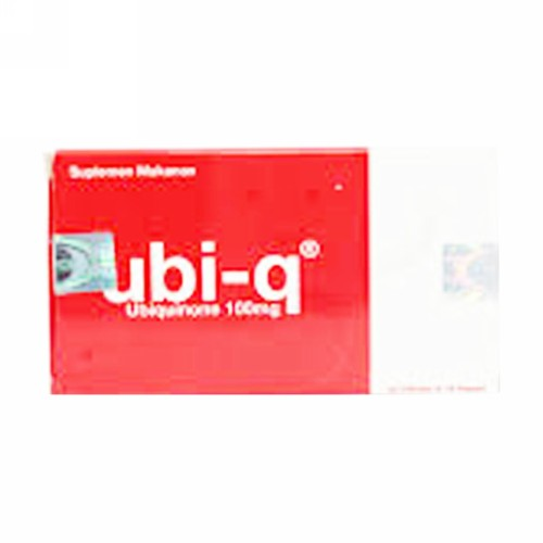 UBI Q 100 MG BOX 30 KAPSUL