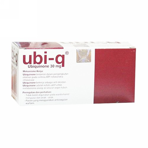 UBI Q 30 MG BOX 100 KAPSUL