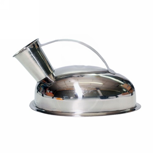 URINAL POT MALE STAINLESS