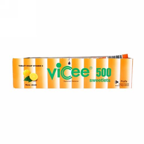 VICEE 500 RASA JERUK BOX 100 TABLET