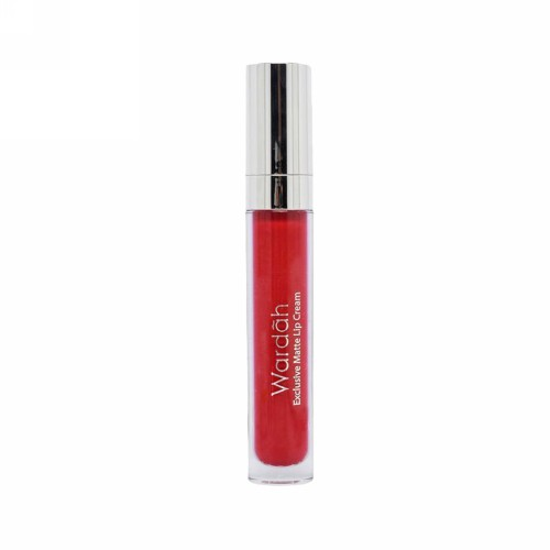 WARDAH EXCLUSIVE MATTE LIP CREAM 01 4 GRAM - RED-DICTED