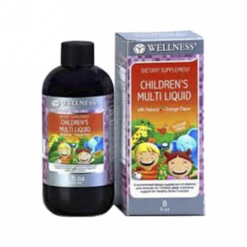 WELLNESS CHILDREN MULTI LIQUID SIRUP 240 ML
