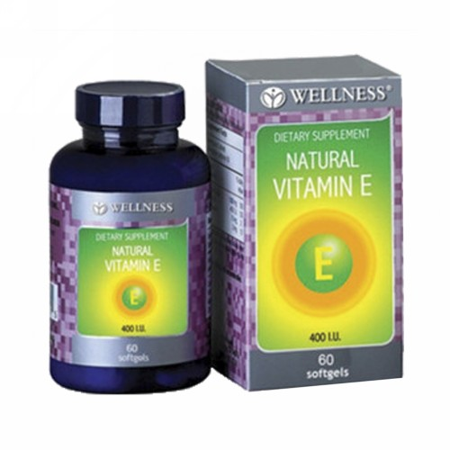 WELLNESS VITAMIN E 400 IU BOX 60 SOFTGEL