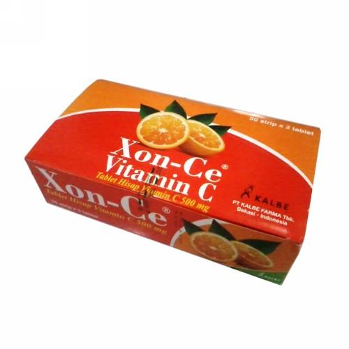 XON-CE VIT C 500 MG BOX 100 TABLET