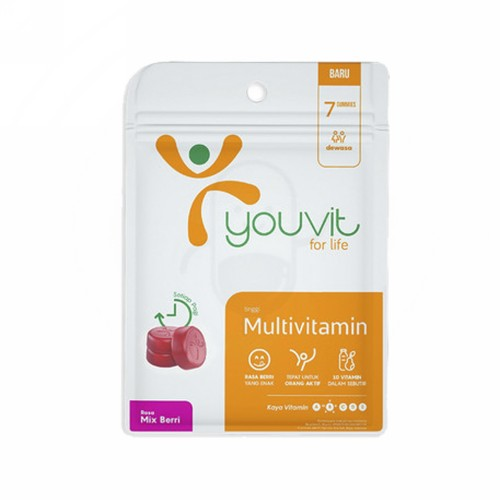 YOUVIT MULTIVITAMIN RASA MIX BERRY SACHET