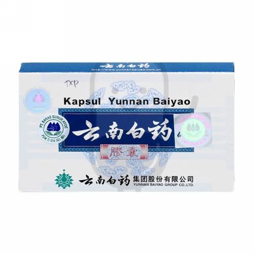 YUNNAN BAIYAO CAPSULES DUS 16 KAPSUL