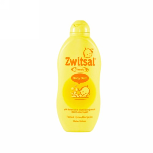 ZWITSAL BABY BATH 2 IN 1 HAIR AND BODY NATURAL 100 ML BOTOL