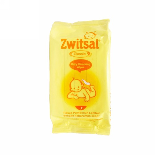 ZWITSAL CLASSIC BABY WIPES CLEANSING BOX 30 PCS