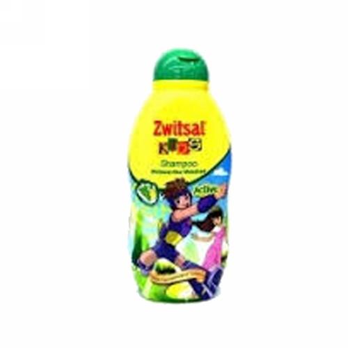 ZWITSAL KIDS SHAMPOO ACTIVE GREEN TUTTI FRUTTI 180 ML BOTOL