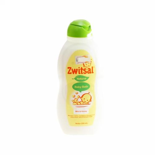 ZWITSAL NATURAL BABY BATH MILK AND HONEY 200 ML BOTOL