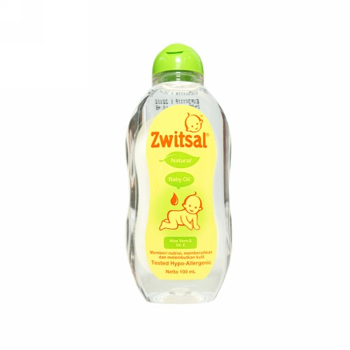 ZWITSAL NATURAL BABY OIL 100 ML BOTOL
