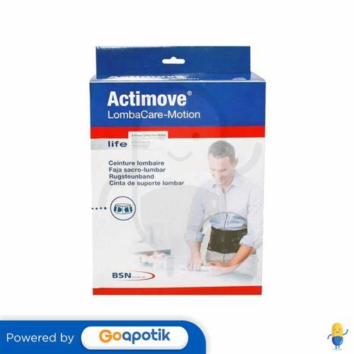 ACTIMOVE LOMBACARE-MOTION BLACK UKURAN XL