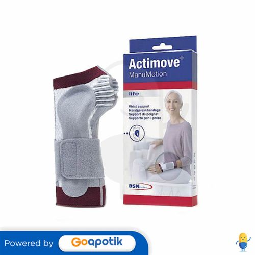 ACTIMOVE MANUMOTION UKURAN XL KIRI