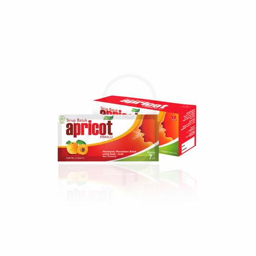 APRICOT SYRUP 7 ML BOX 10 SACHET