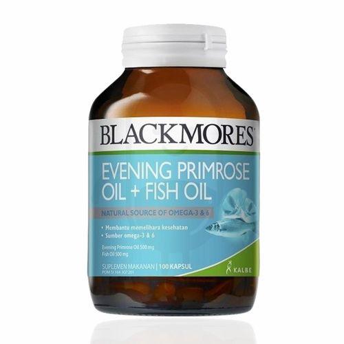 BLACKMORES EVENING PRIMEROSE OIL + FISH OIL BOTOL 100 KAPSUL