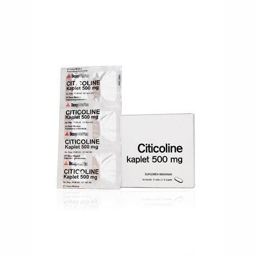 CITICOLINE OGB DEXA MEDICA 500 MG KAPLET