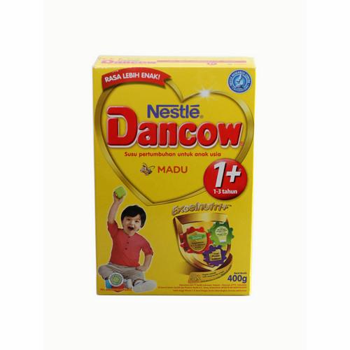 DANCOW 1+ EXCELNUTRI+ USIA 1-3 TAHUN RASA MADU 400 GRAM BOX