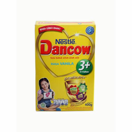 DANCOW 3+ EXCELNUTRI+ USIA 3-5 TAHUN RASA VANILA 400 GRAM BOX
