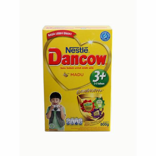 DANCOW 3+ EXCELNUTRI+ USIA 3-5 TAHUN RASA MADU 800 GRAM BOX