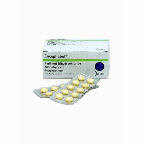 Jual Beli Encephabol 100 Mg Strip 10 Tablet
