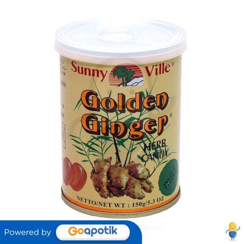 GOLDEN GINGER CAN HERB DROPS MILD 150 GRAM